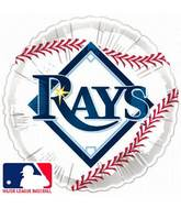 "18"" MLB BaseBall Balloon Tampa Bay Rays"