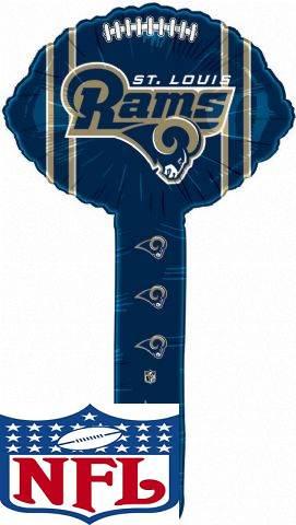 Air Filled Hammer Balloon Saint Louis Rams