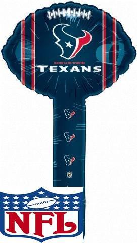 Air Filled Hammer Balloon Houston Texans