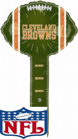 Air Filled Hammer Balloon Cleveland Browns