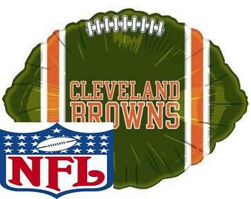"18"" NFL Foil Balloon Cleveland Browns"