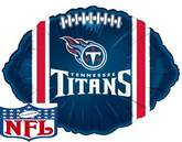 """9"""" Airfill Only NFL Balloon Tennessee Titans"""