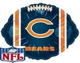 """18"""" NFL Foil Balloon Chicago Bears"""