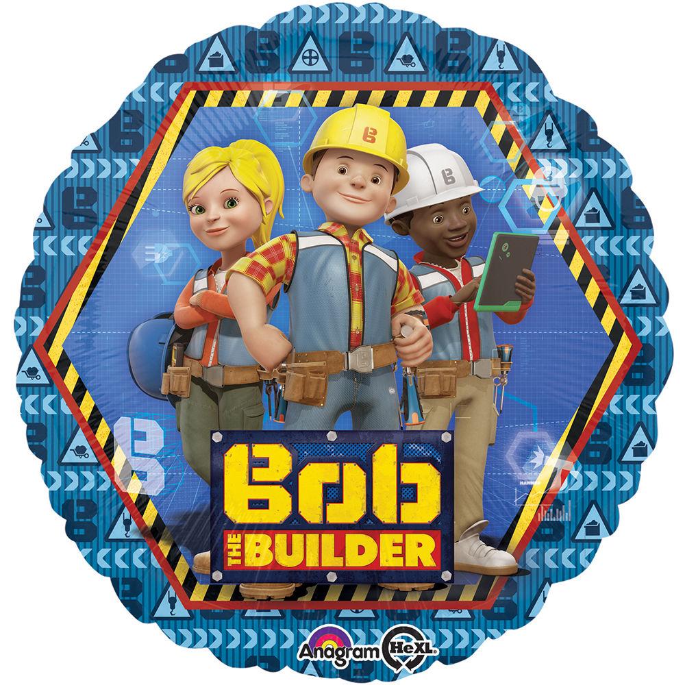 """18"""" Bob the Builder Foil Balloon"""