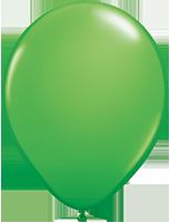 "5"" Spring Green 100 Count Qualatex Plain Latex"