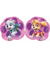 "11"" Airfill Only Paw Patrol - Skye & Everest Balloon"