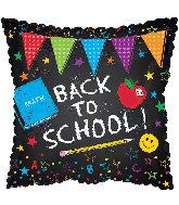"17"" Back to School PennantsFoil Balloon"