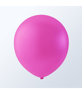 "9"" Creative Brand Fuschia  Pink Latex Balloons (144 Per Bag)"