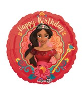 "18"" Elena of Avalor-Happy Birthday Balloon"