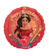 """18"""" Elena of Avalor-Happy Birthday Balloon"""