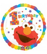 "18"" Sesame Street 1st Birthday Balloon"