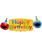 """42"""" Elmo Fun Balloon"""