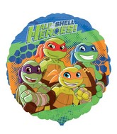 "18"" Half Shell Heroes Balloon"
