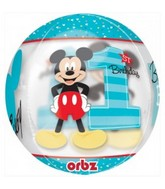 "16"" Mickey 1st Birthday Balloon"