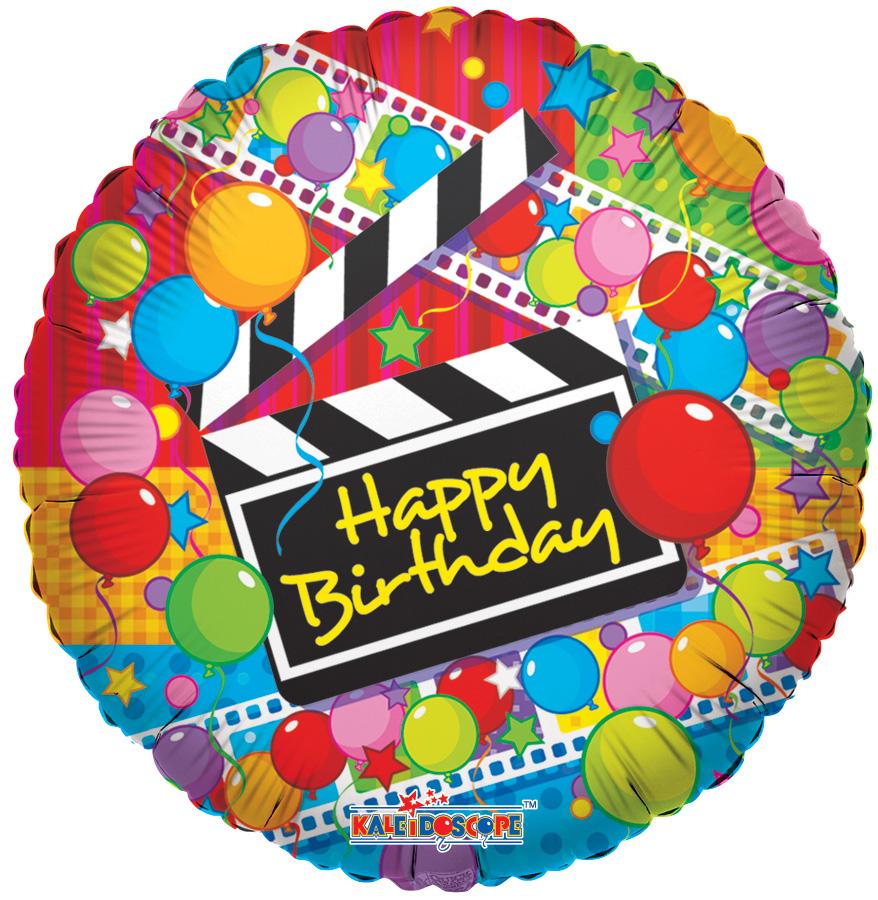 """18"""" The Movie Balloon Round Balloon"""