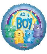 """18"""" Zoo Baby Boy Balloon"""