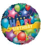 Airfill Birthday Balloons Mylar Balloons