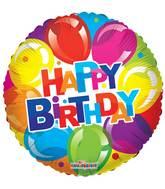 """9"""" Airfill Only Birthday Shiny Balloons Balloon"""