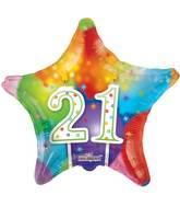 "18"" 21st Candles Balloon"