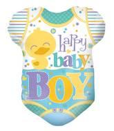 """18"""" Baby Clothes Boy Shape Balloon"""