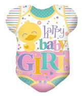 "18"" Baby Clothes Girl Shape Balloon"