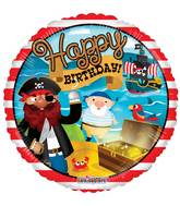 "18"" Birthday Pirate Treasure Balloon"