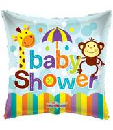 """18"""" Baby Shower Square Balloon"""