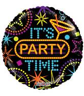 "18"" It's Party Time Balloon"