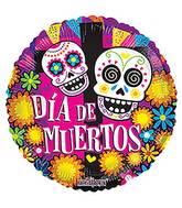 """18"""" Dia De Muertos Balloon"""