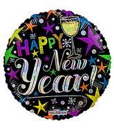 "18"" New Year Celebration Hol Balloon"
