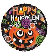 "18"" Balloon Happy Halloween Candies"