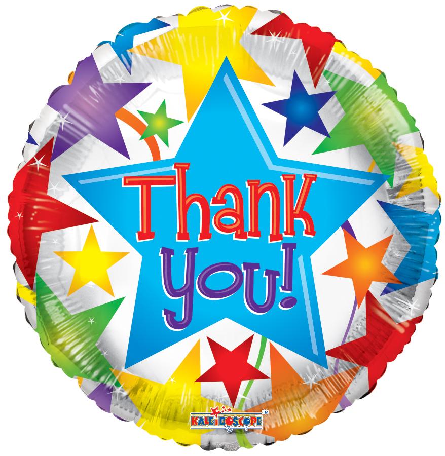 "18"" Thank You Stars Balloon"