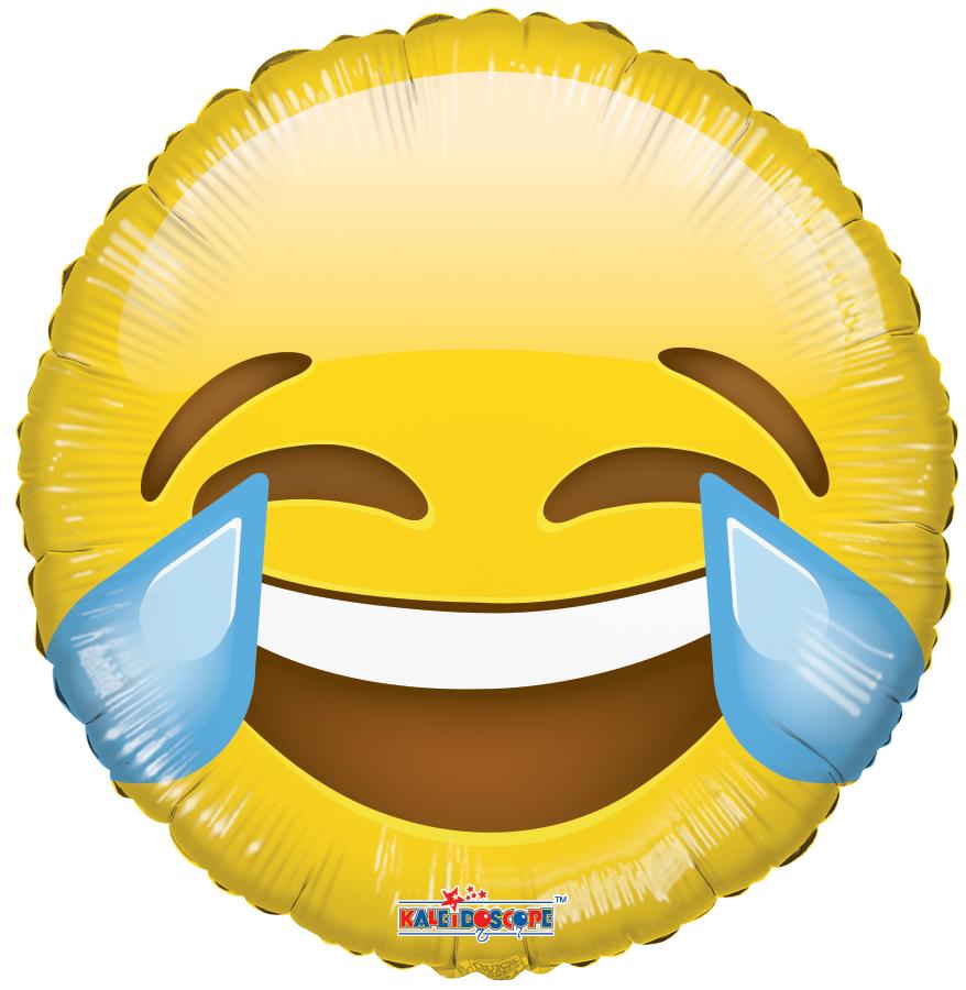 "18"" Smiley Laugh Balloon Emoji"