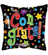 """18"""" Colorful Congrats Gellibean Balloon"""