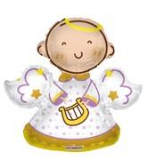 "28"" Baby Angel Shape Gellibean Balloon"