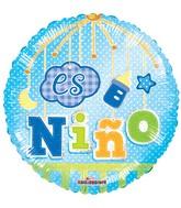 "18"" Es Nino Movil Holografico Balloon"