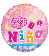 "18"" Es Nina Movil Holografico Balloon"