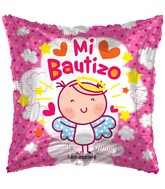 "18"" Angelita Rosa Bautizo Balloon"