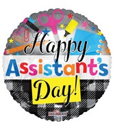 """18"""" Assistant's Day Balloon"""