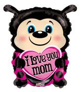 """18"""" Mom Ladybug Shape Balloon"""