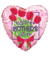 """18"""" Happy Mother's Day Bunch Of Flowers Balloon"""