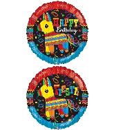 """18"""" Round Party Piñata Balloon"""