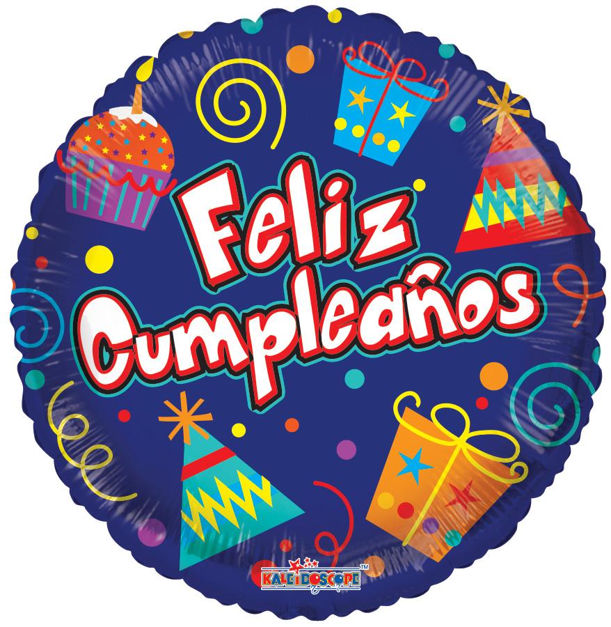 """18"""" Feliz Cumpleaños Party Elements Balloon"""