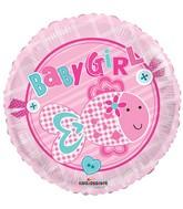 """18"""" Baby Girl Little Fish Balloon"""