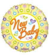 """18"""" New Baby Balloon"""