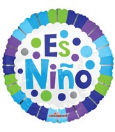 """18"""" Es Un Niño Balloon"""