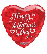 "18"" Valentine's Red Balloons"