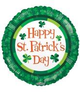 "18"" St Patrick's Green Balloon"