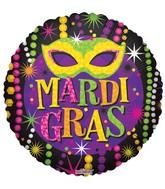 """18"""" Mardi Gras Balloon"""