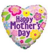 """18"""" Mother's Day Flowers Balloon"""